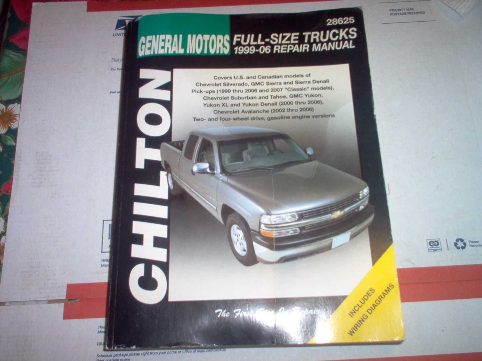 manualspro on chilton repair manual and diagram rh pinterest com 1997 Yukon 2002 Yukon Problems