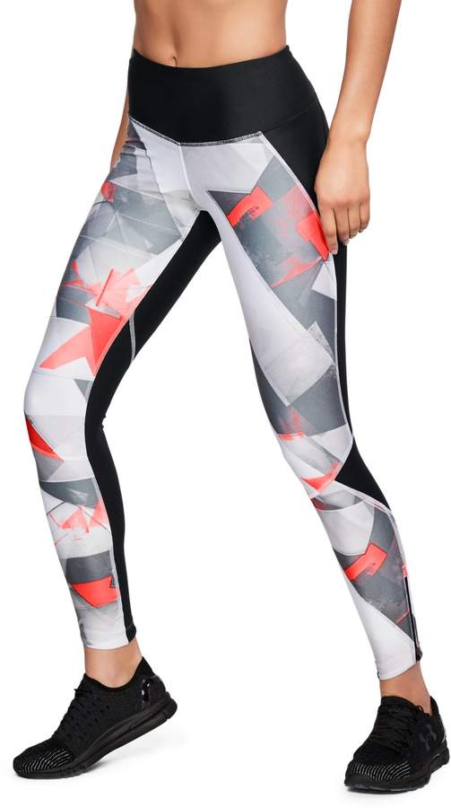 2a8db11c703df Under Armour Women's UA Armour Fly Fast Printed Tights in 2019 ...