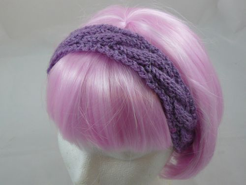Knit Cable Headband Pattern Free Free Knitting Pattern How To