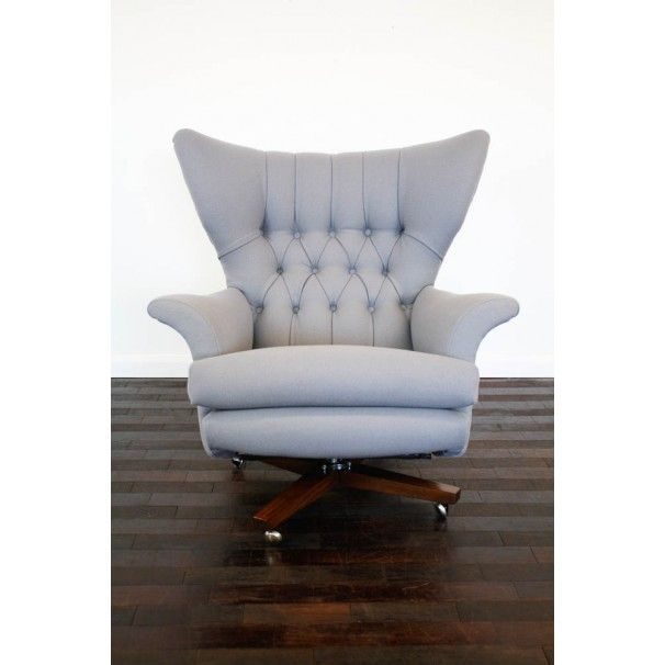 Vintage 60s G-plan swivel chair. Sold as 'The most comfortable chair in
