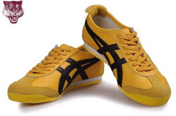 Asics Onitsuka Tiger Kanuchi Shoes Yellow Black [45122013250 .