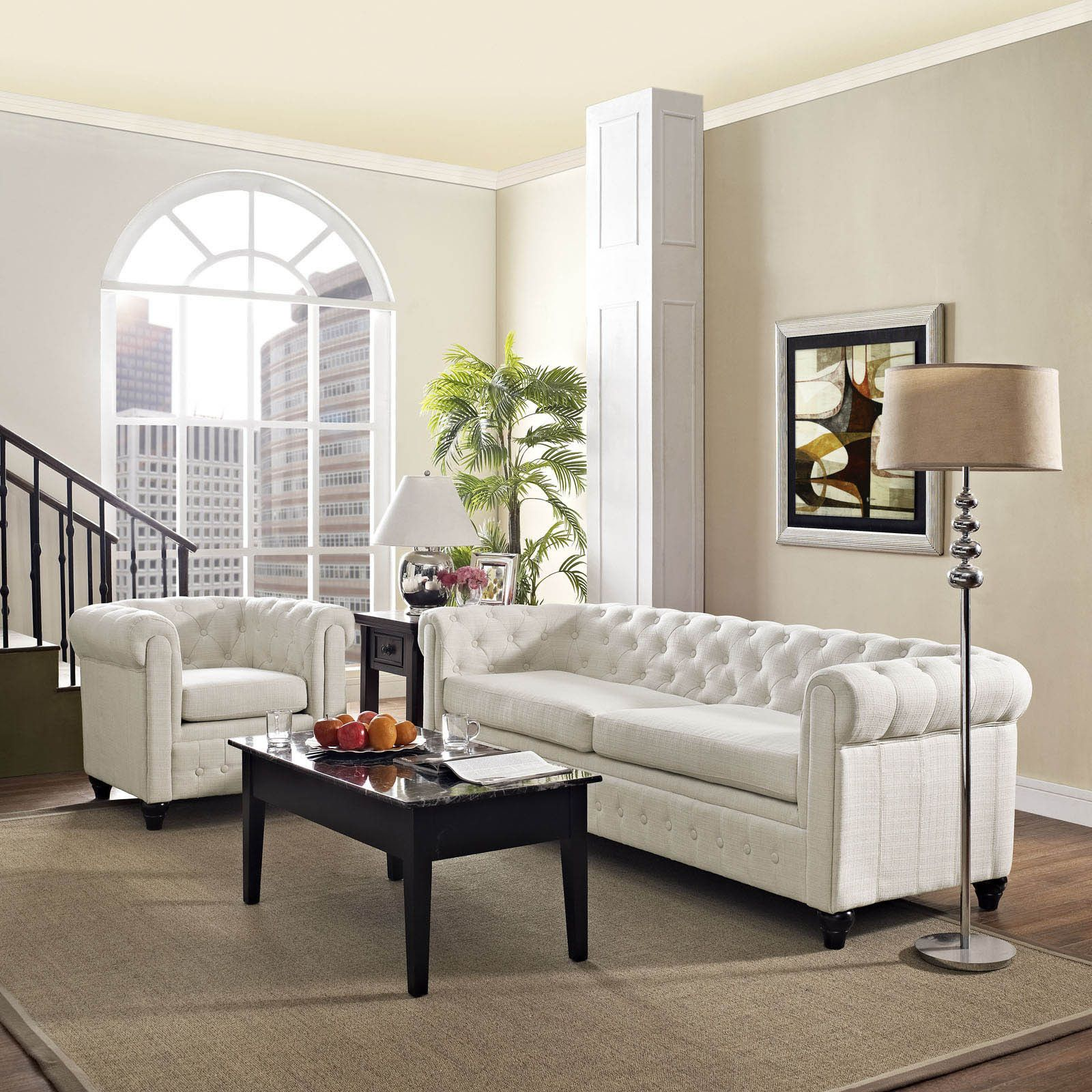 Buy white living room set from Overstock.com for everyday discount ...