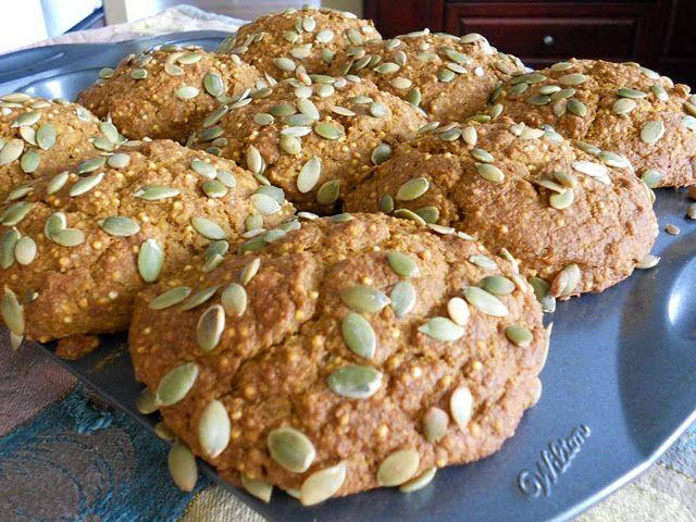 Pumpkin Millet Muffins...Rebar recipe