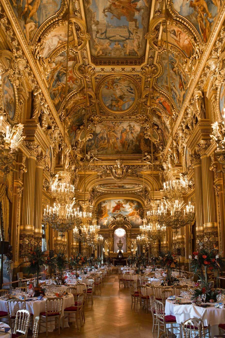 Opera De Paris Opening Gala For Season 16 17 Barock Architektur Schone Gebaude Architektur