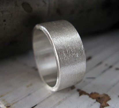 Wide Silver Ring Sterling Silver Custom Wedding Band 10mm Etsy Mens Wedding Rings Unique Rustic Mens Wedding Rings Promise Rings For Guys