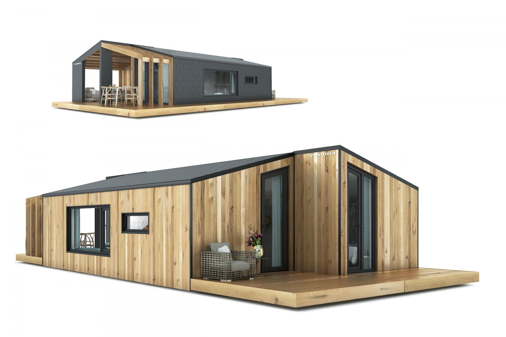Alpline » Modular homes » Adria Mobile Homes (avec images