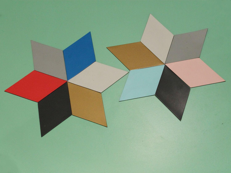 Mit diesen bunten Wandmagneten kreiert man jeden Tag ein neues Stück Kunst für Küche, Arbeitszimmer oder Büro.