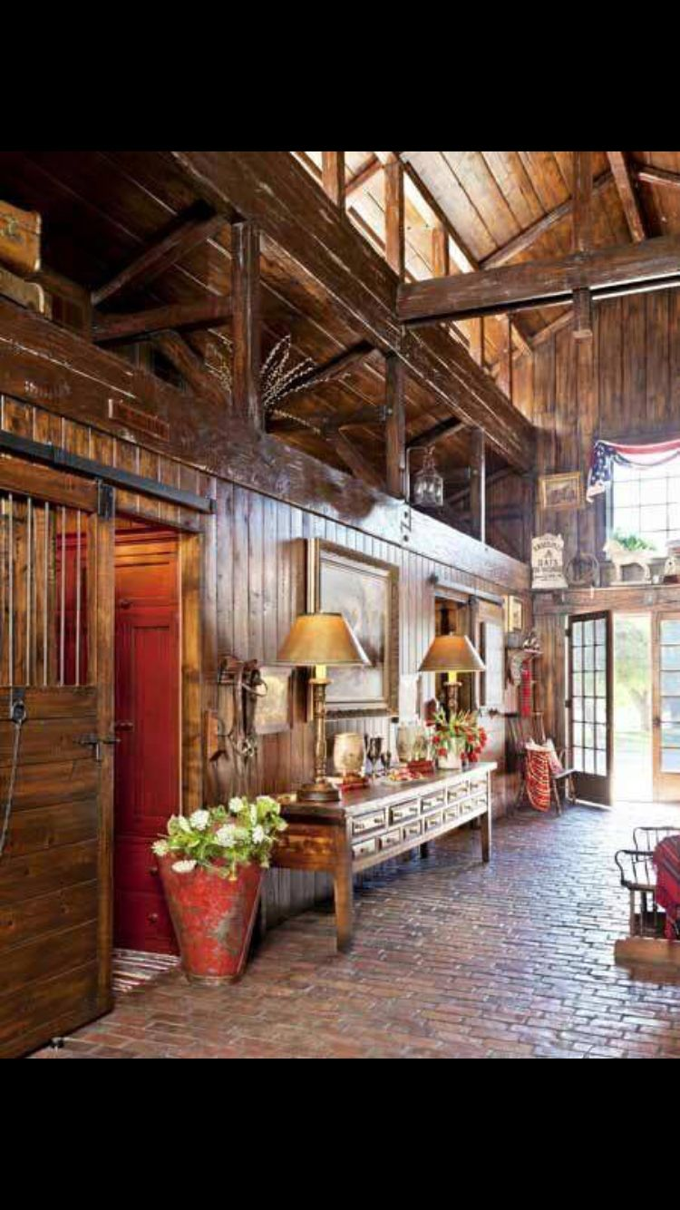 Barn Turned Into House Love This