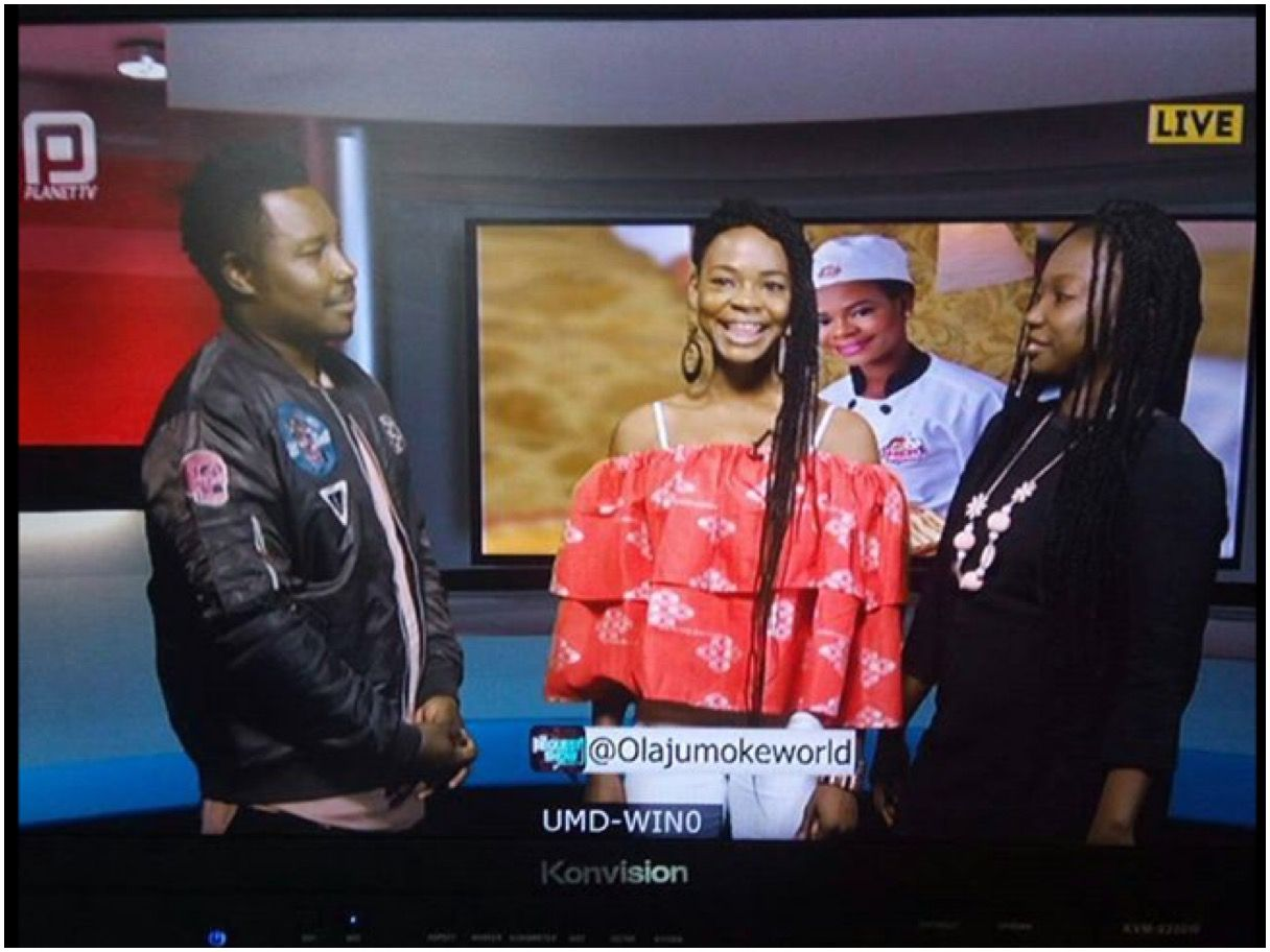 Olajumoke Orisaguna was on 'The Request Show' with Turas on PlanetTV South  Africa