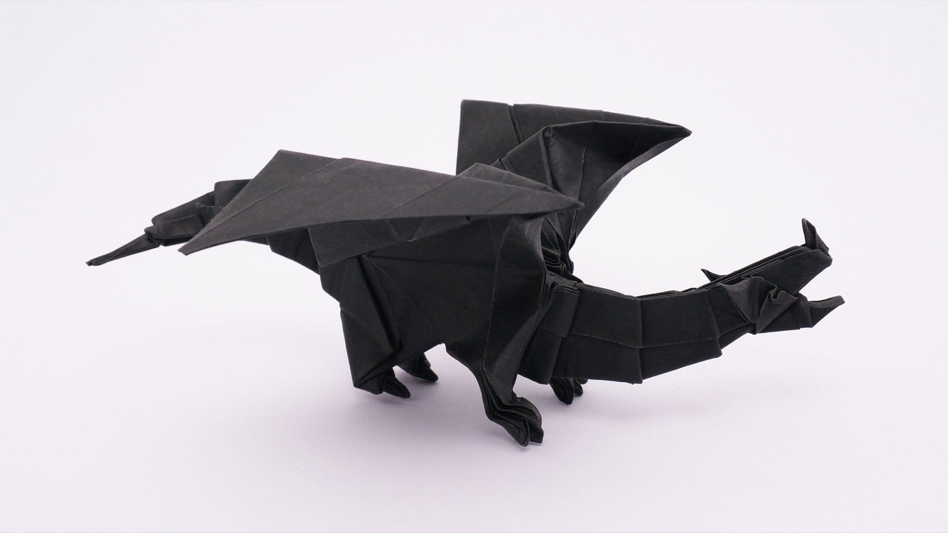 How To Make An Origami Devil Dragon V2 Designed By Jo Nakashima 01 2016