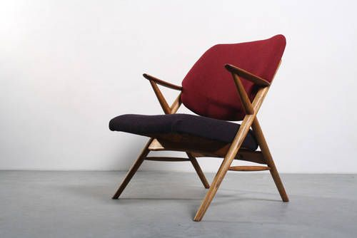RETRO : Fauteuil stoel Deense design Danish chair retro jaren 60
