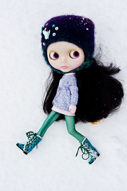 blythe - miss pop and the snow