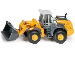 The 1/87 Liebherr 4 Wheel Loader from the Siku Super Series - Discounts on all Siku Diecast Models at Wonderland Models.    One of our favourite models in the Siku Super Series 1/87 Scale range is the Siku Liebherr 4 Wheel Loader.    Siku manufacture wonderful, amazingly accurate and detailed diecast models of all sorts of vehicles, particularly construction vehicles including this Liebherr 4 Wheel Loader which can be complemented by any of the items in the Super Series range.
