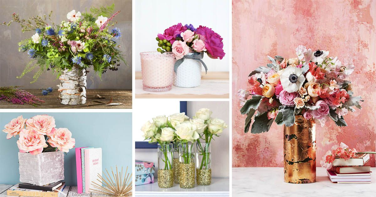 Amazing Ways To Decorate Your Plain Glass Vases And Make It Look