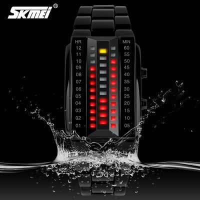 Skmei 1031 LED Sports Watch with Japan Movts Waterproof Design and Zinc Alloy Watch Band-13.18 and Free Shipping| GearBest.com