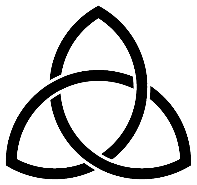 Pagan Symbols And Their Meanings Celtic Trinity Knot Pinterest