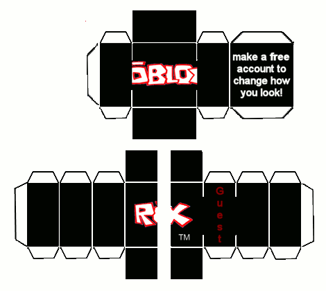 Papercraft Roblox Guest Roblox Party In 2019 Lego