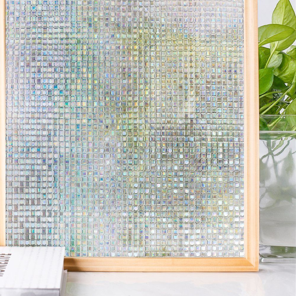 Vinyl 200 Cm Breed Homein 3d Window Film Privacy Opaque Glass Sticker Self Adhesive
