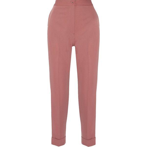 Cropped wool gabardine trousers Bottega Veneta dYnfyPesF