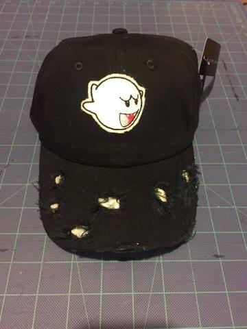 82a1b7e9 Retro Super Mario Boo Dad hat | GoRetroNyc Dadhats | Dad hats, Hats ...