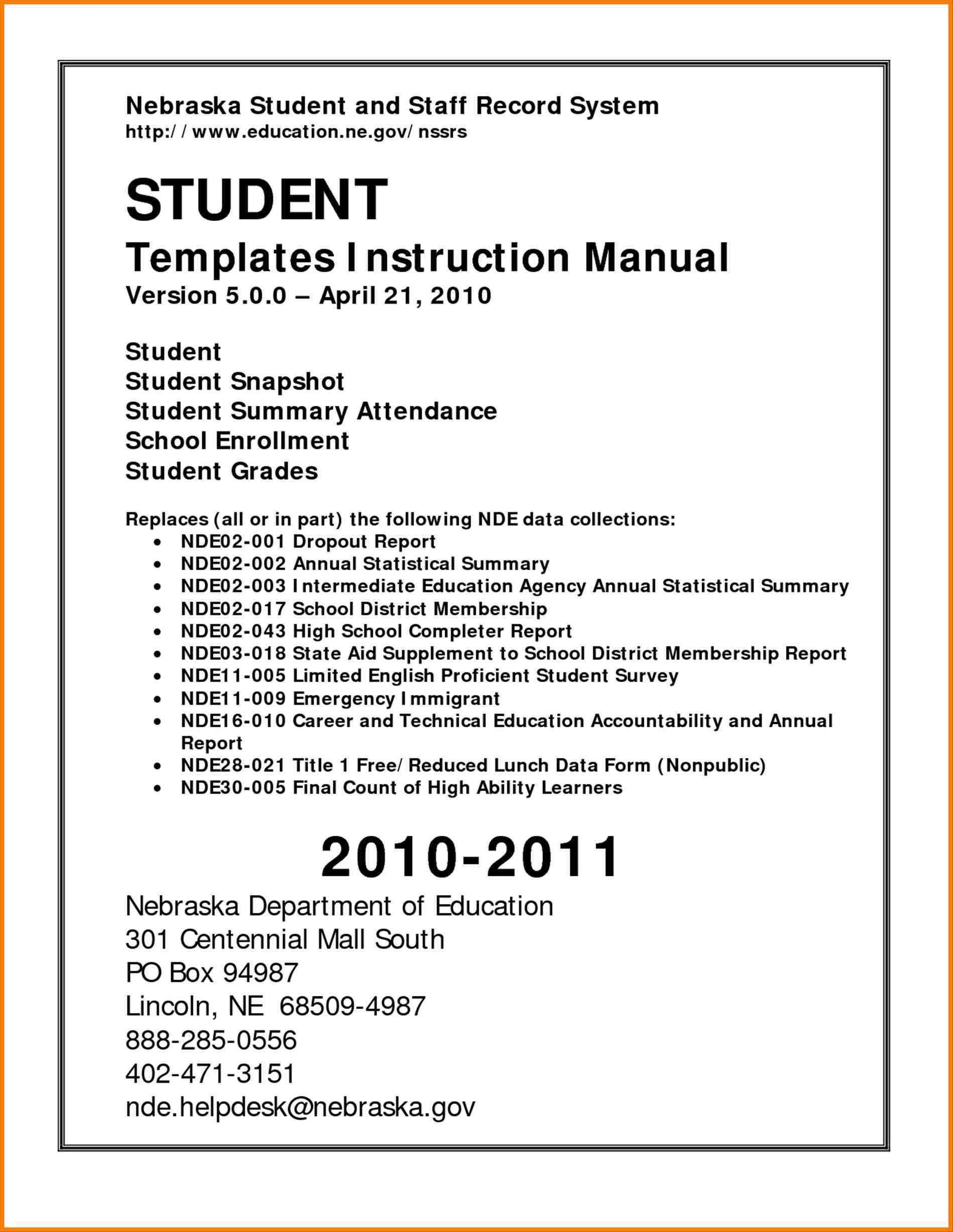 instruction training manual template microsoft word manual template