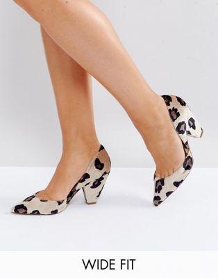 f59c6b4d7552 ASOS SULPHUR Wide Fit Pointed Heels