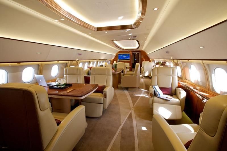 20 Luxury Interiors For Your Private Jet