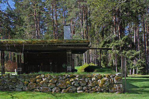 Aalto S Villa Mairea In Finland Alvar Aalto Green Roof Layout Architecture