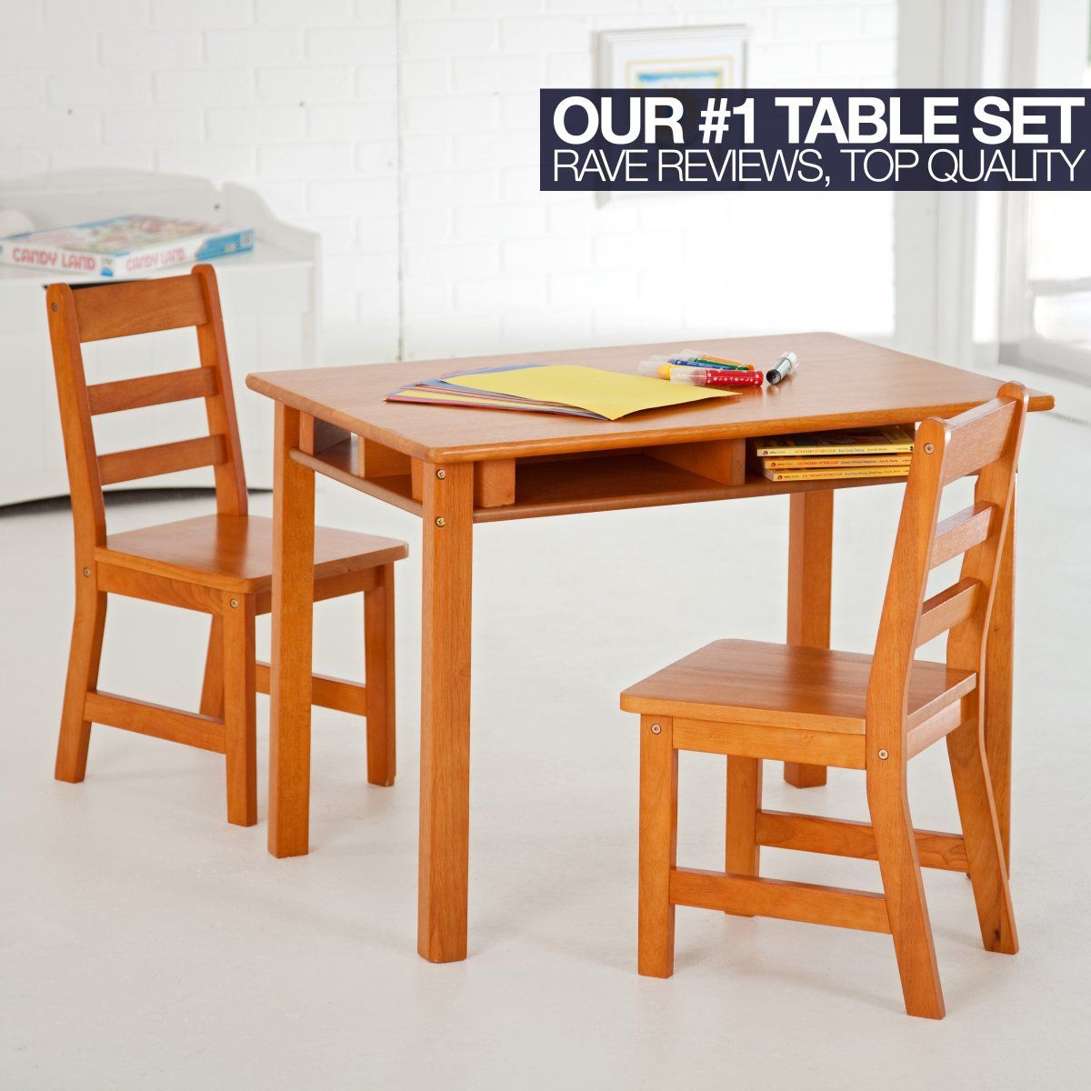 Ordinaire Lipper Childrens Rectangular Table And Chair Set   I Love This One. Itu0027s  From Childrenstablesandchairs