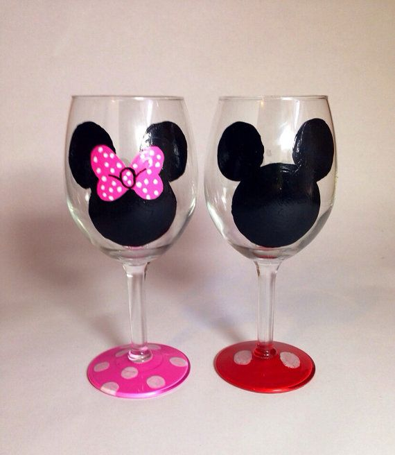 Minnie Amp Mickey Mouse Set By Felicitouslymade On Etsy 44