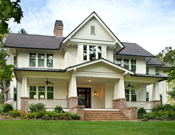Building a New Family Home with Classic Southern Style Asheville