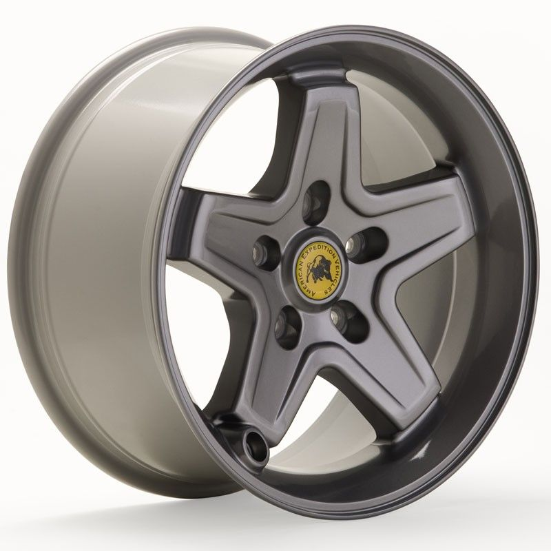 AEV 20402013AA Pintler Jeep Wheels | Color: Argent | Jeep