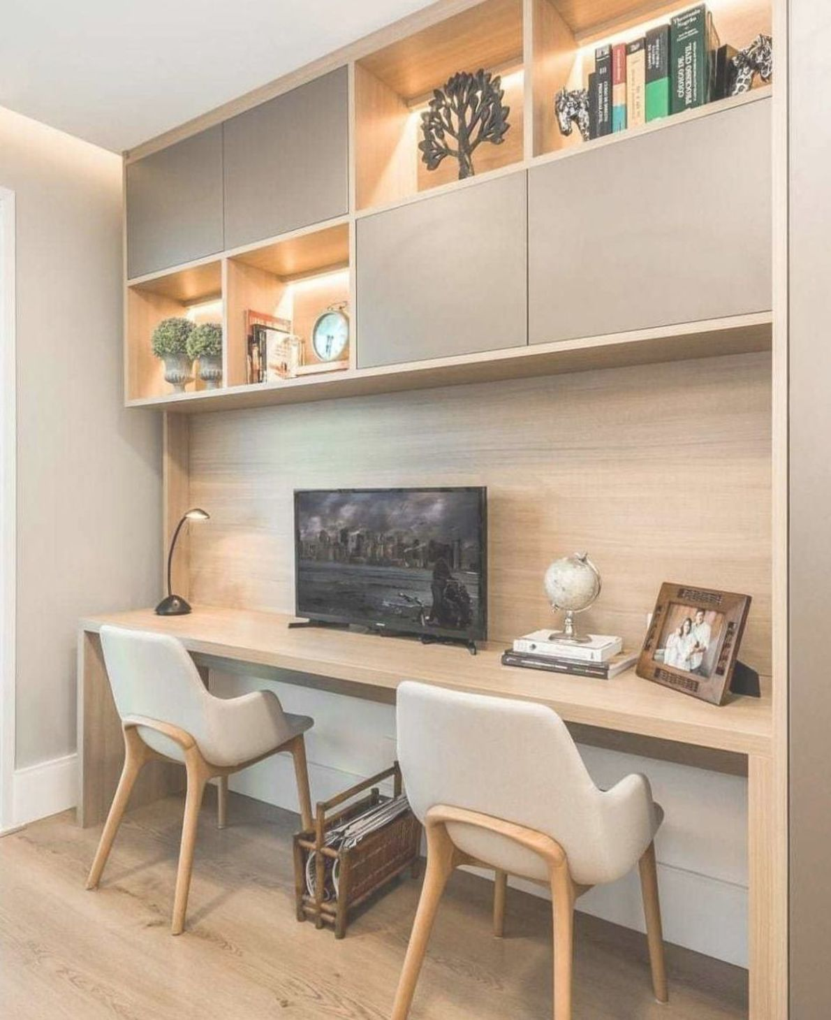 Awesome 38 Stunning Small Home Office Furniture Design ...