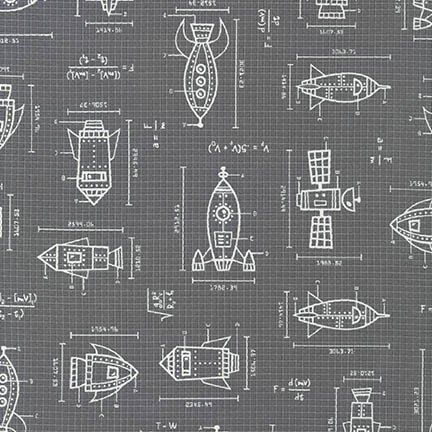 Spaced Out Ships in Grey