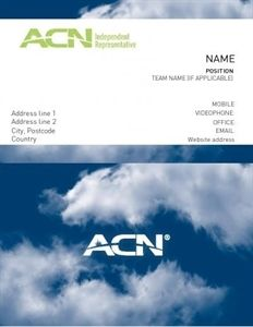 Show details for acn classic business card clouds pack of 200 show details for acn classic business card clouds pack of 200 reheart Gallery