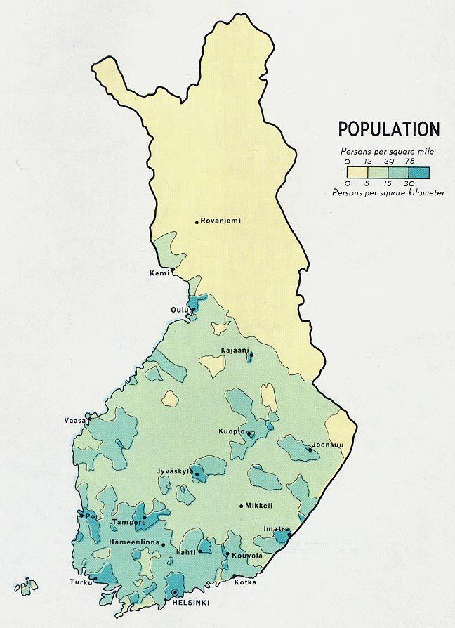 Finlands population 1969 httpenpediawiki httpenpedia ccuart Choice Image