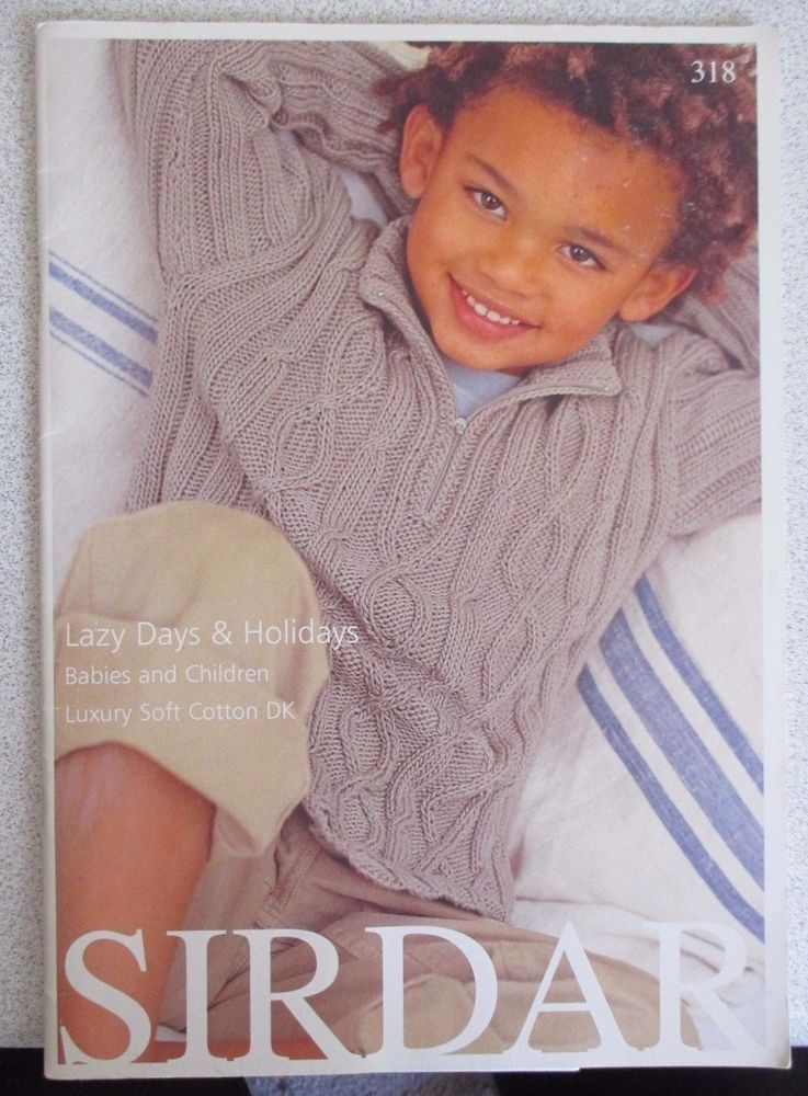 Sirdar Knitting Pattern No 318 Childrens Knitwear Knitting