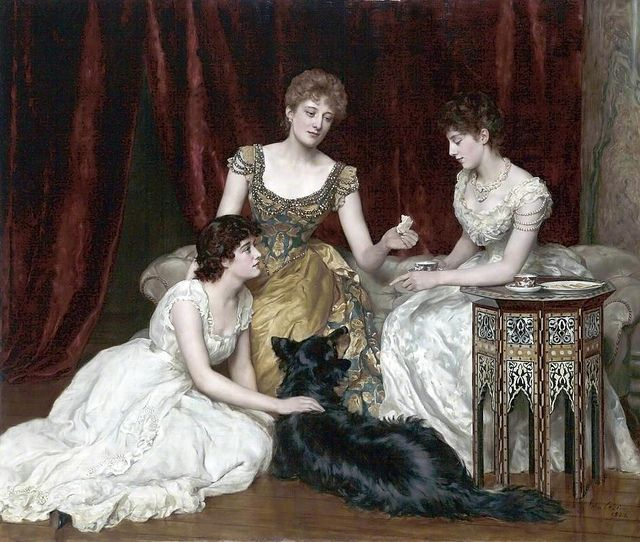 The Three Daughters of William Reed, John Collier