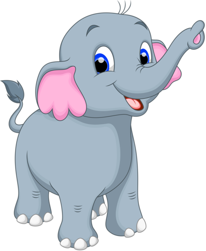 cartoon elephant vector 12 png elephant rh pinterest com elephant cartoon pic elephant cartoon images black and white