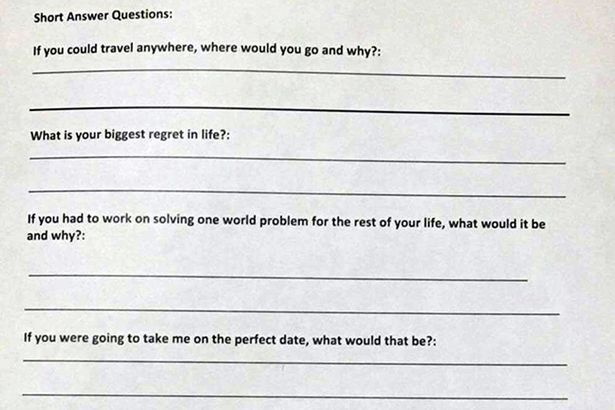 Dating application for women