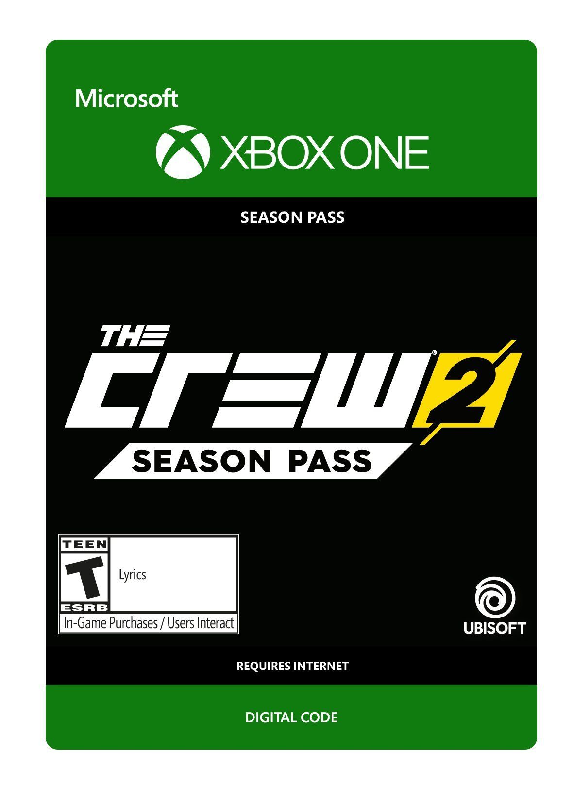 The Crew 2 Season Pass Xbox One [Digital Code] Make