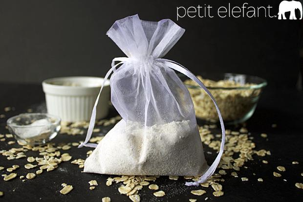 Make A DIY Oatmeal Bath How To - Petit Elefant