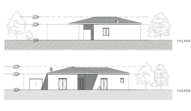 Villa Tuchan Plan Maison Plan Maison Moderne Plans De Maison Traditionnelle