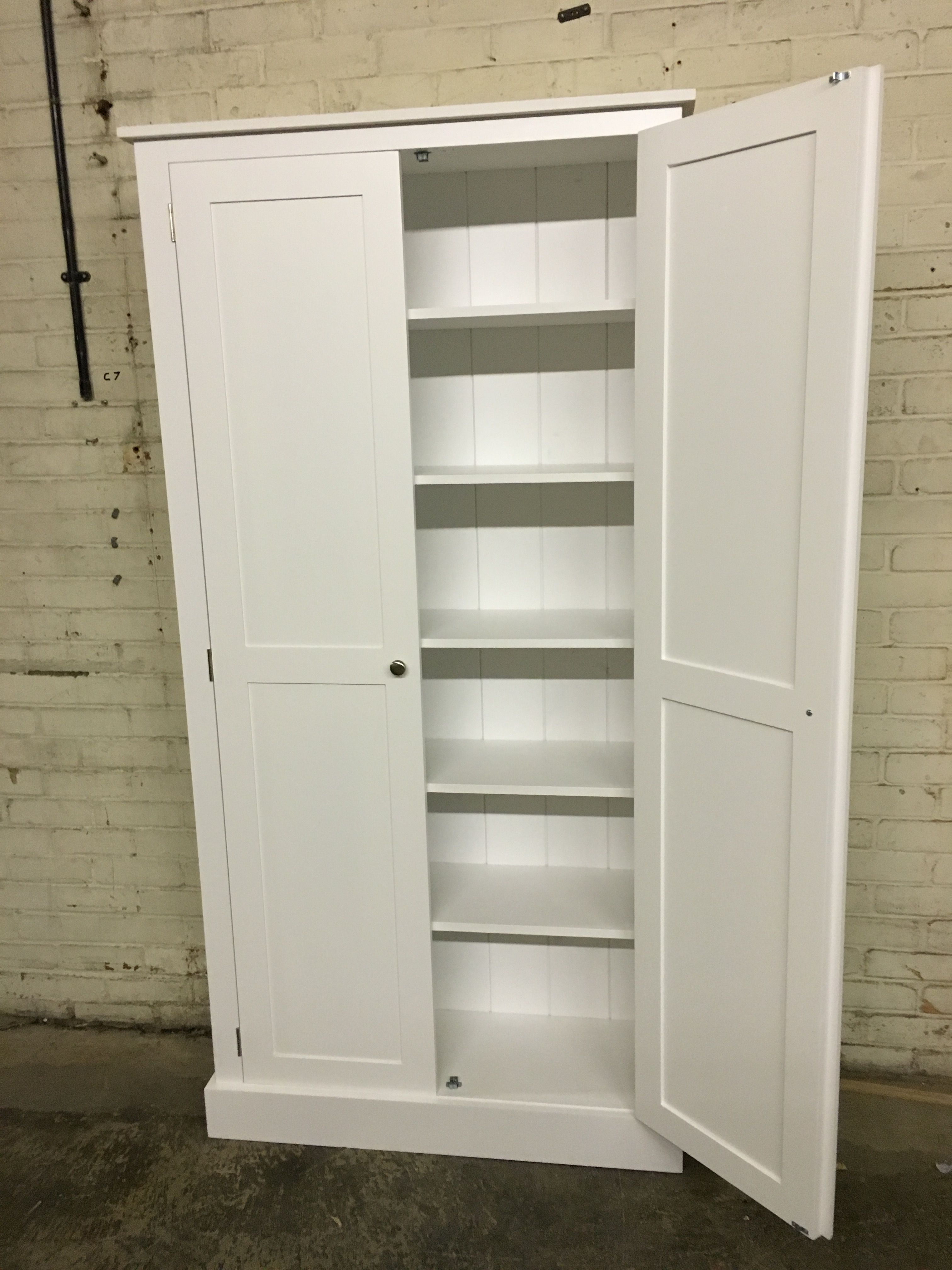 Housekeepers Cupboard In White From Cobwebs Furniture Company.