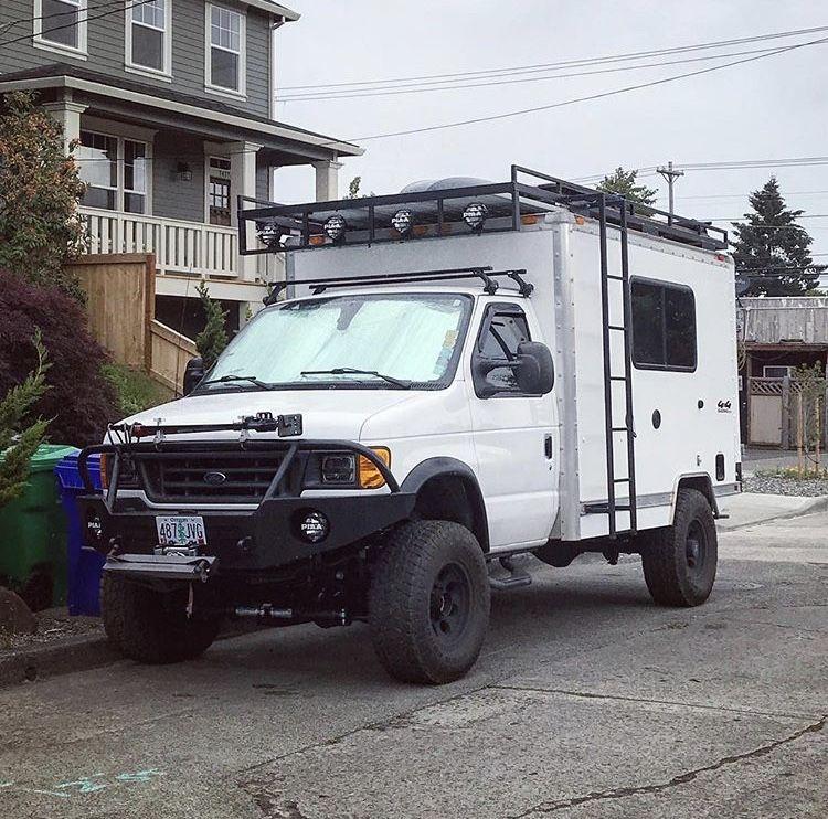4x4 Box Van Camper Truck Camper 4x4 Van 4x4 Camper Van