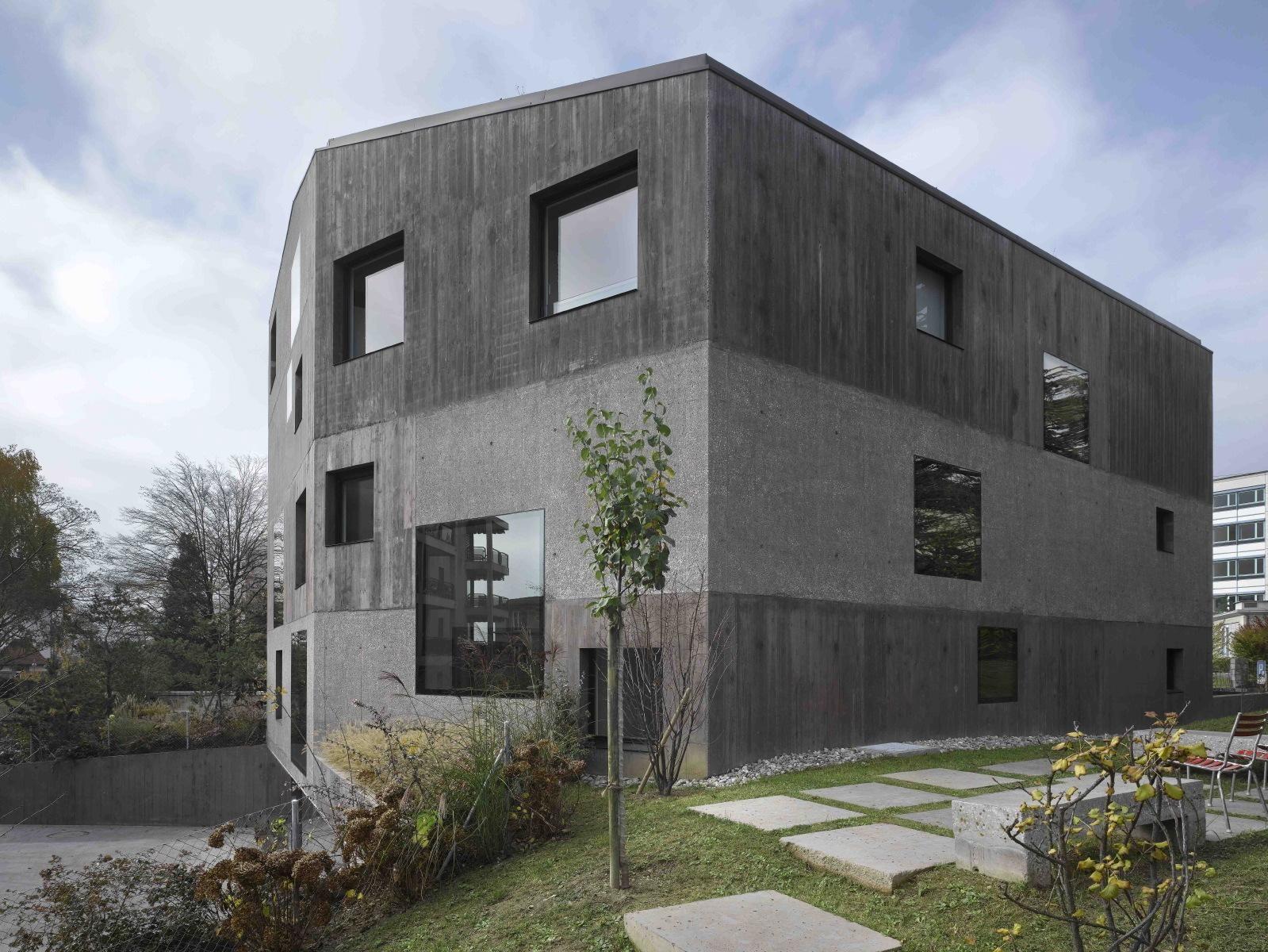 Villa urbaine de 4 logements 2b architectes