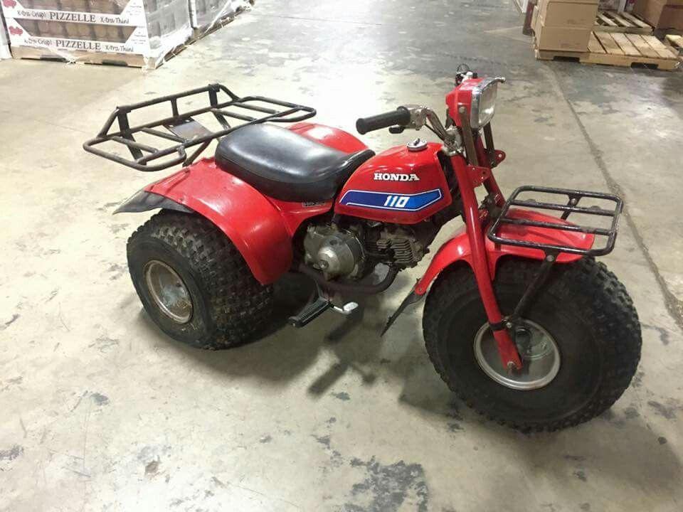 1981 Honda ATC 110 3 Wheeler
