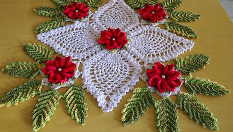 Free Crochet Flowers Table Runner Patterns Patterns For Beginners