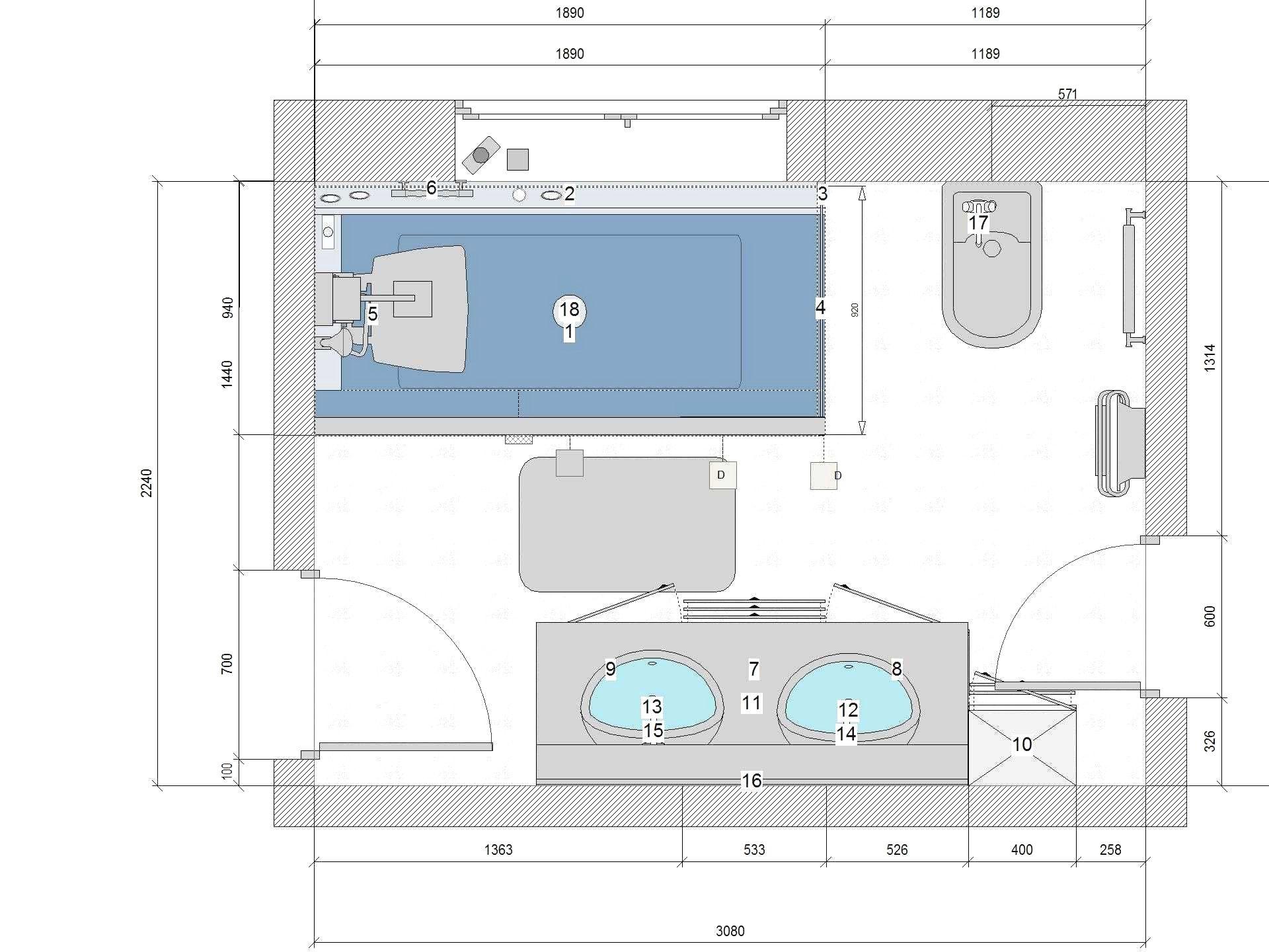Plan Salle De Bain 7m2 Meilleur Deplan Amanagement Salle De Bain