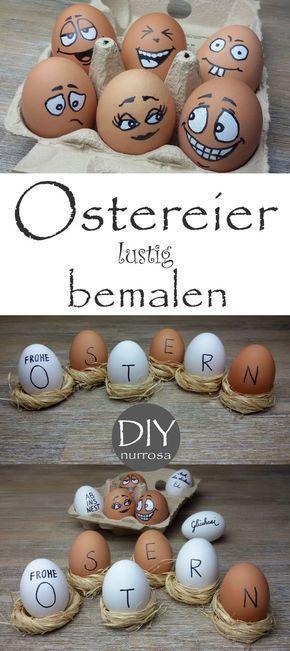 ostereier ostereier pinterest ostereier ostern und osterdeko. Black Bedroom Furniture Sets. Home Design Ideas